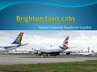 Cheap Brighton Taxis Cabs London