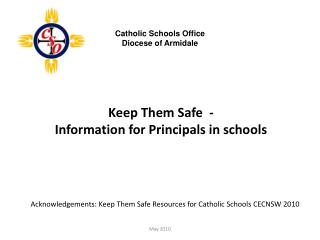 Keep Them Safe  -  Information for Principals in schools