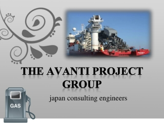 the avanti project group, Japan gass, Technip av Frankrike i