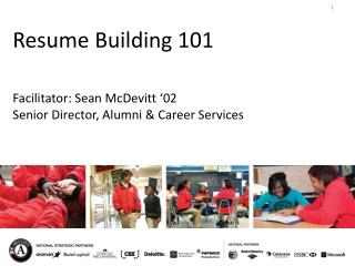 Resume Building 101