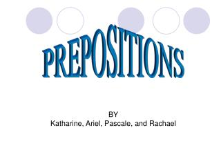HERES SOME EXAMPLES OF PREPOSITIONS