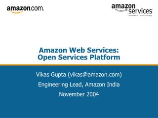 Amazon Web Services: Open Services Platform