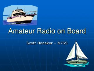 Amateur Radio on Board