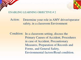 ENABLING LEARNING OBJECTIVE # 2