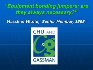 """""""Equipment bonding jumpers: are they always necessary?"""""""