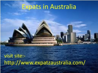 Expats in Australia