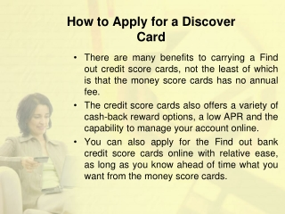 Discover student card