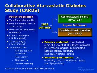 Collaborative Atorvastatin Diabetes Study (CARDS)