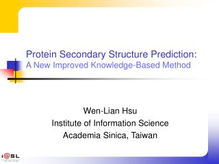 Protein Secondary Structure Prediction: A New Improved Knowledge ...