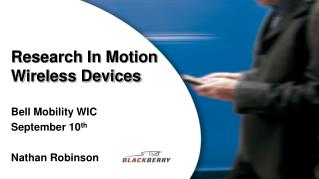 Research In Motion Wireless Devices
