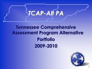 TCAP-Alt PA