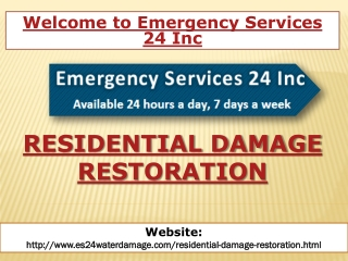 Residential Damage Restoration