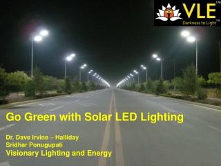 Solar LED Street Lighting by VLE
