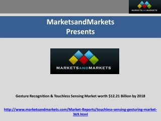 Gesture Recognition Market