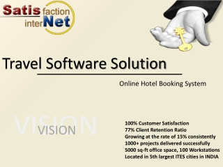 Online Hotel Booking portal development services from Satisn