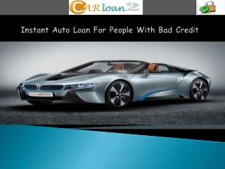 Instant Auto Loans