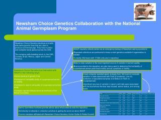 Newsham Choice Genetics Collaboration with the National Animal Germplasm Program