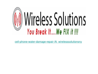 cell-phone-water-damage-repair in new york
