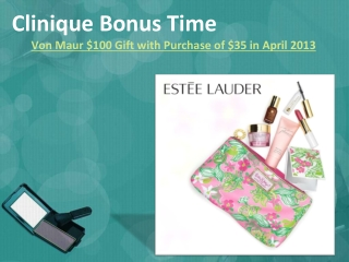 Clinique Bonus Time Von Maur