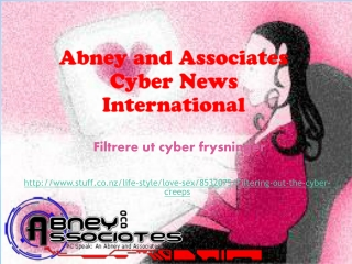 Abney and Associates Cyber News International: Filtrere ut c