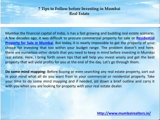 Residential Property for Sale in Mumbai