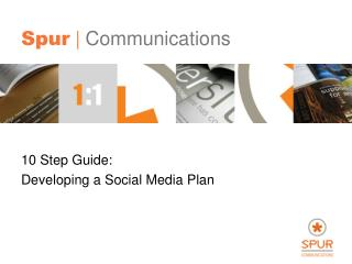 10 Step Guide:  Developing a Social Media Plan