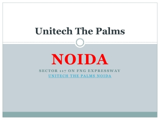 UNitech The Palms - An Dove Of Better Living
