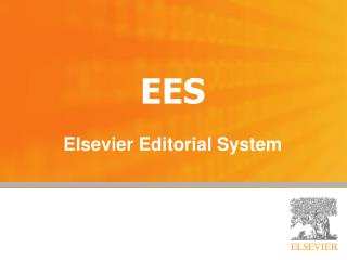EES Elsevier Editorial System