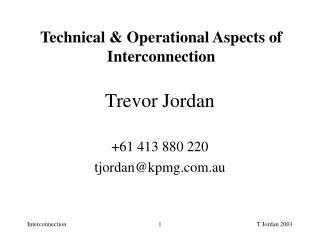 Trevor Jordan