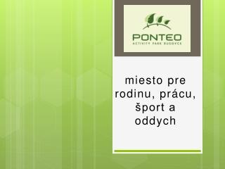 Hotel Ponteo Bratislava