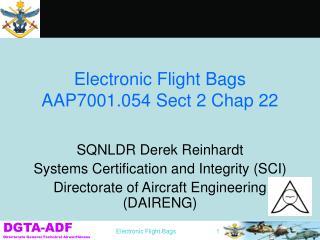 Electronic Flight Bags AAP7001.054 Sect 2 Chap 22
