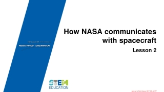How NASA communicates with spacecraft