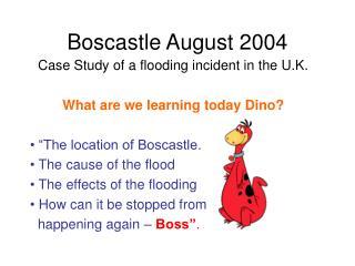 Boscastle August 2004