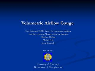 Volumetric Airflow Gauge