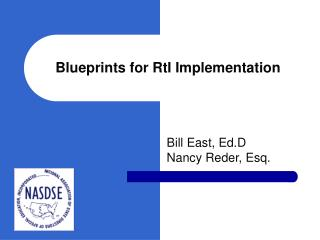 Blueprints for RtI Implementation
