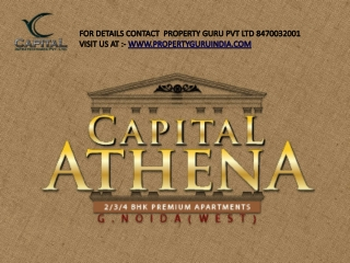 Capital Athena Call Property Guru Pvt Ltd 8470032001