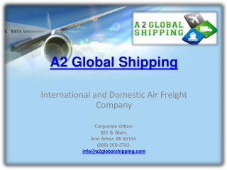 A2 Global Shipping
