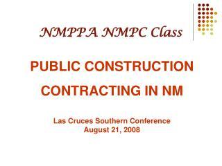 NMPPA NMPC Class