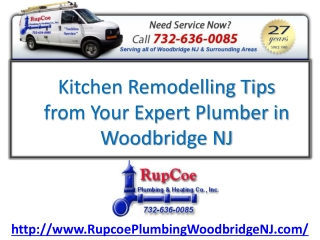 Kitchen Remodelling Tips from Your Licensed Plumbers in Wood