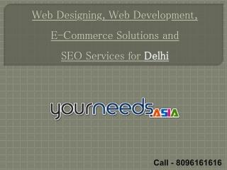 SEO Services Delhi, India, E-Commerce Web Portal Development