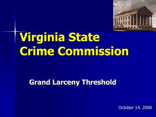 Virginia State  Crime Commission