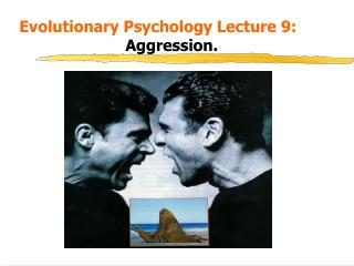 Evolutionary Psychology Lecture 9: 					 Aggression.