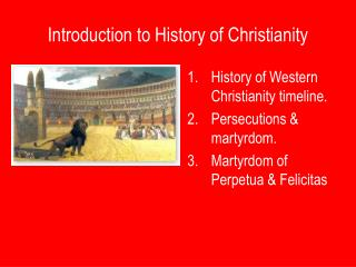 Introduction to History of Christianity