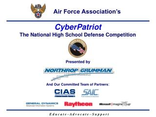 CyberPatriot  The National High School Defense Competition
