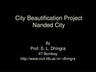 City Beautification Project Nanded City