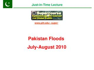 Pakistan Floods    July-August 2010