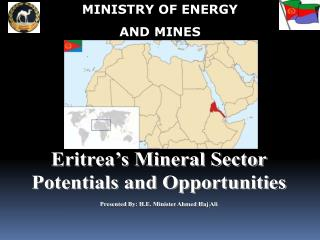 MINISTRY OF ENERGY  AND MINES