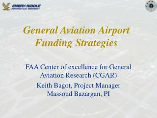 General Aviation Airport Funding Strategies