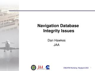Navigation Database  Integrity Issues