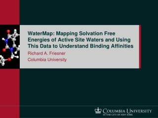 WaterMap: Mapping Solvation Free Energies of Active Site Waters and Using This Data to Understand Binding Affinities